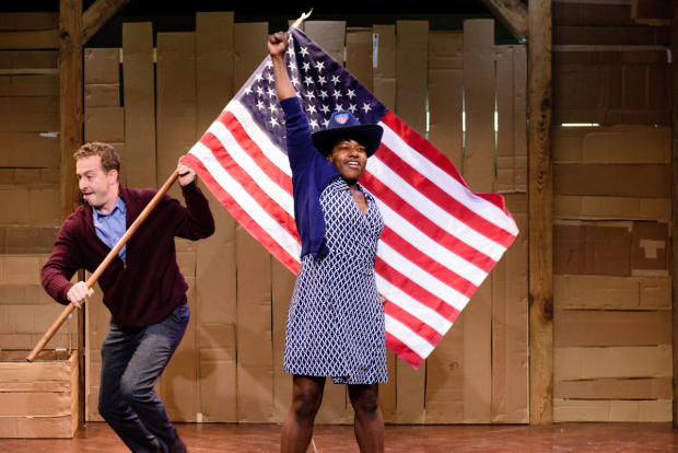 Photo of Underground Railroad Game – Traverse Theatre, Edinburgh
