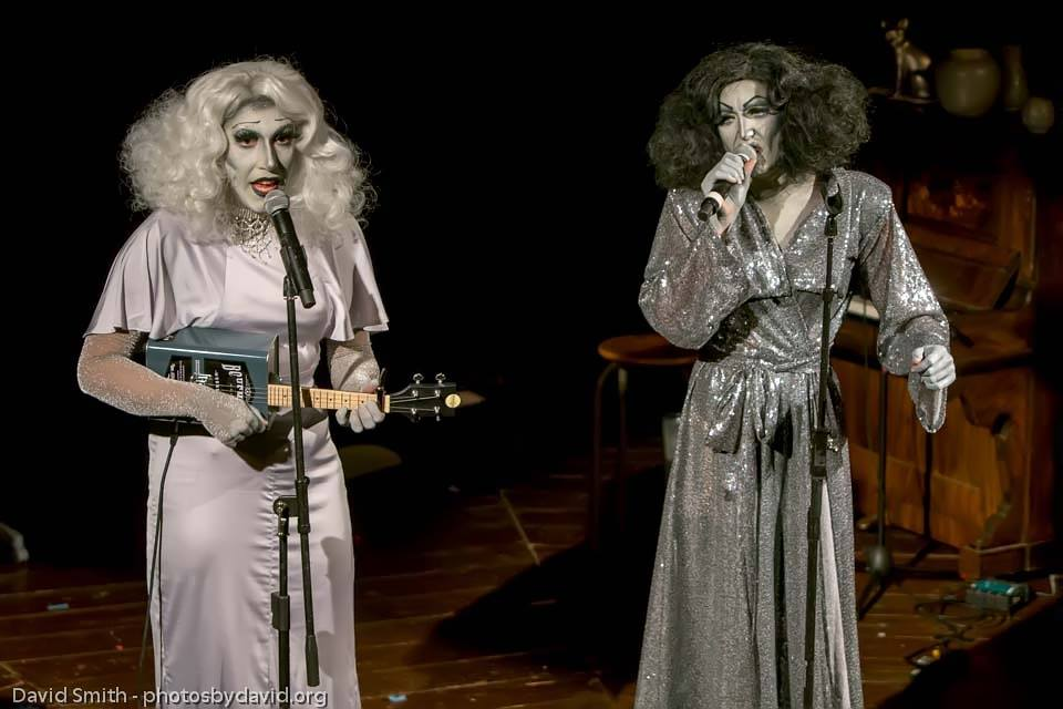 Photo of BRIGHTON FRINGE: Cinebra – Glenda and Rita, Brighton Spiegeltent: Bosco