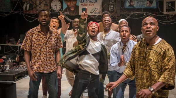 Photo of Barber Shop Chronicles – National Theatre At Home