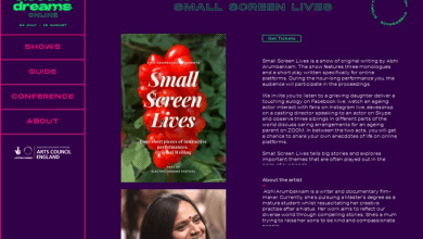 Photo of Small Screen Lives – Electric Dreams Online Festival