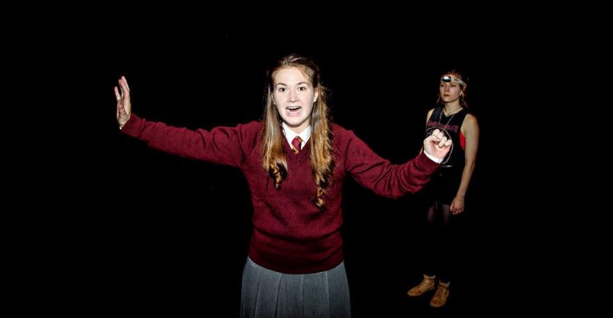 Photo of A Girl in School Uniform (Walks Into a Bar) – New Diorama, London