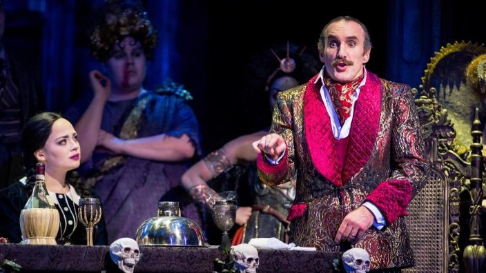 Photo of The Addams Family – New Wimbledon Theatre, London