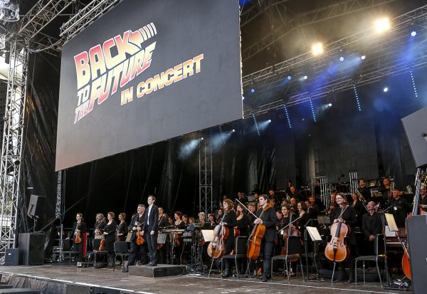 Photo of Back to the Future in Concert – Millennium Square, Leeds