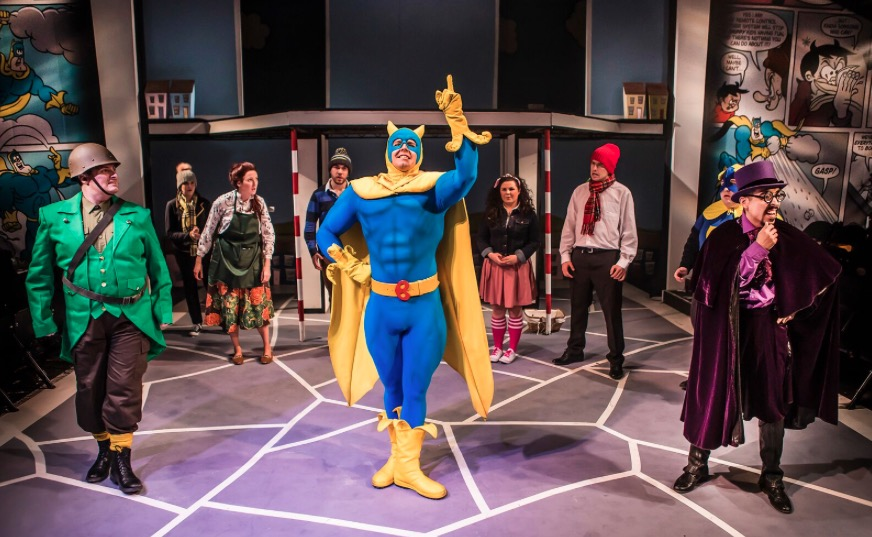 Photo of Bananaman The Musical – Southwark Playhouse, London