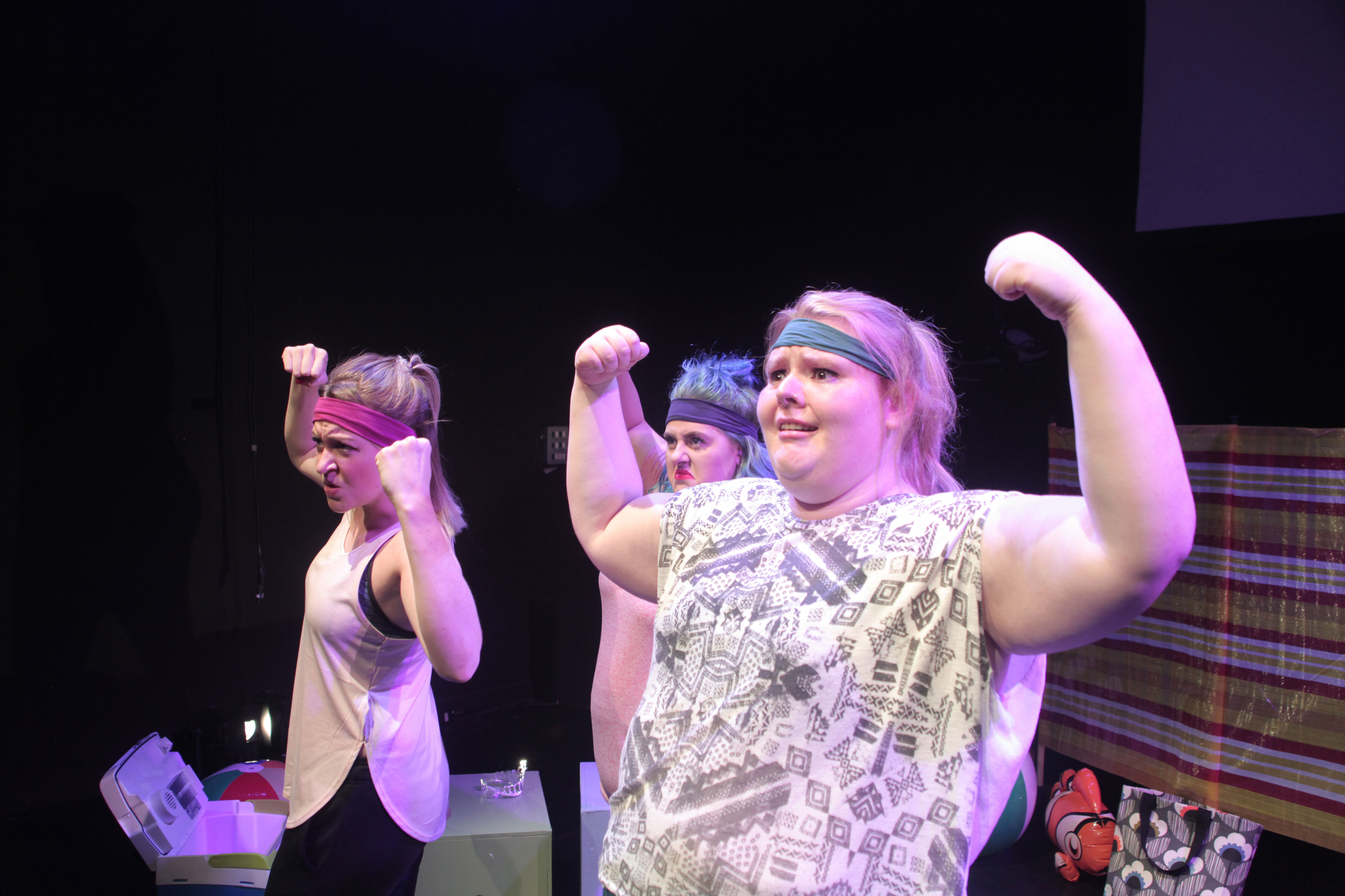 Photo of FIFTY WORD FRINGE PITCH…The Roaring Girls on their show Beach Body Ready
