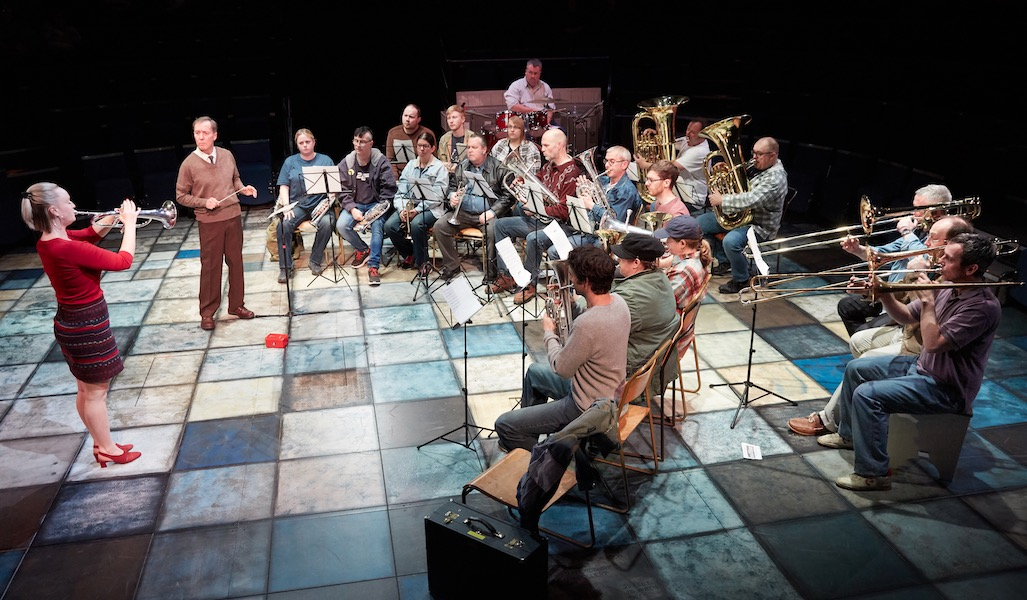 Photo of Brassed Off – New Vic Theatre, Newcastle-under-Lyme
