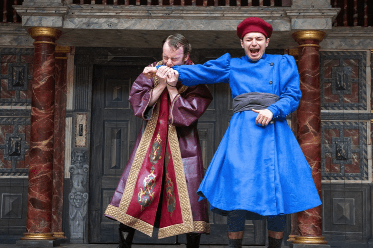 Photo of The Comedy of Errors  –   The Globe, London