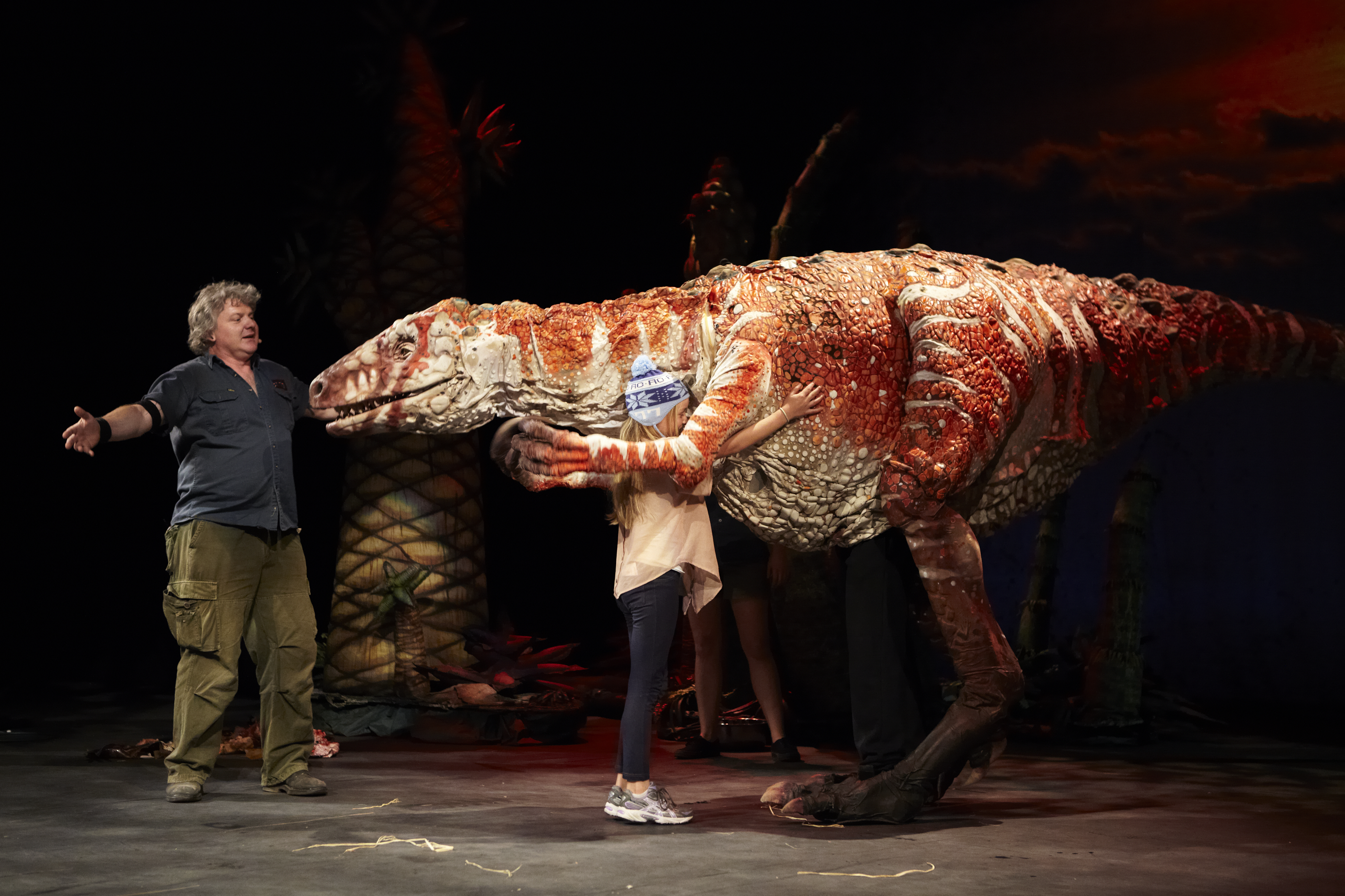 Photo of FIFTY WORD FRINGE PITCH…Erth's Dinosaur Zoo