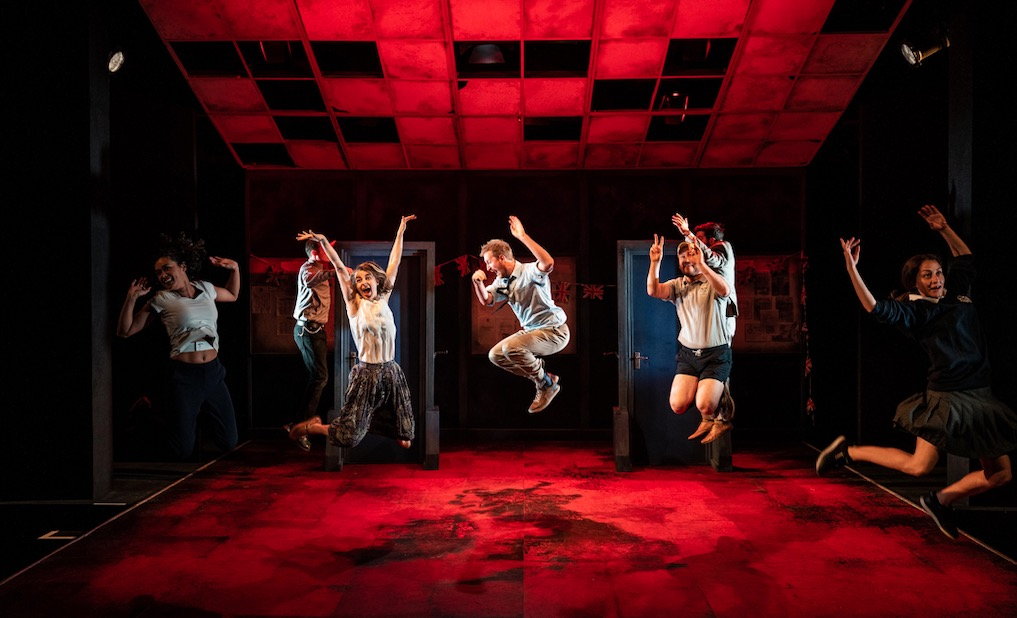 Photo of education education education – Trafalgar Studios, London
