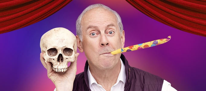 Photo of Gyles Brandreth: Break a Leg – Pleasance Courtyard, Edinburgh