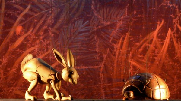 Photo of The Hare and the Tortoise & Other Tales from Aesop – Puppet Theatre Barge, London