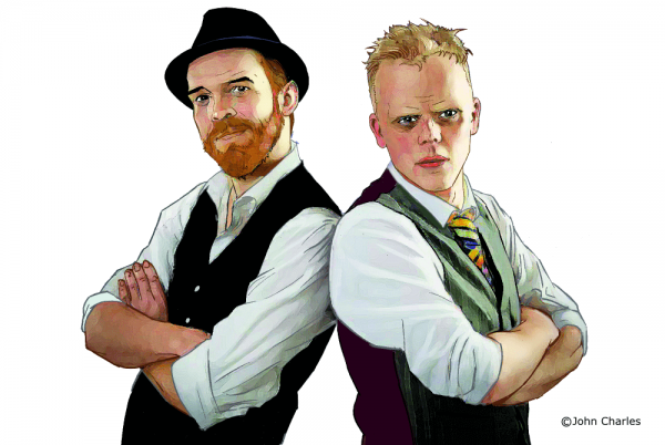Photo of BRIGHTON FRINGE: Griffin & Jones: Slapdash Magic – Sweet Waterfront 2