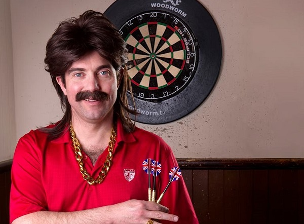 Photo of BRIGHTON FRINGE: Jody Kamali is Mike Daly: Darts and All – The Warren: The Nest