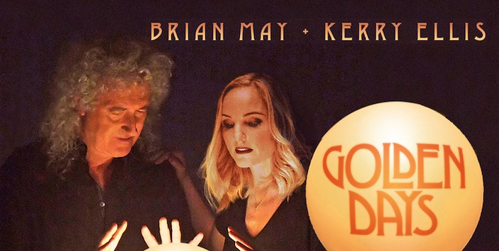 Photo of CD REVIEW: Kerry Ellis and Brian May – Golden Days