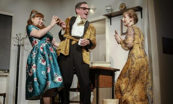 Photo of Larkin with Women – Esk Valley Theatre, Glaisdale