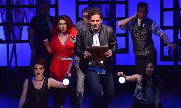 (Matthew McConaughey vs. the Devil) (NYMF) (NYC) (c)Michael Kushner