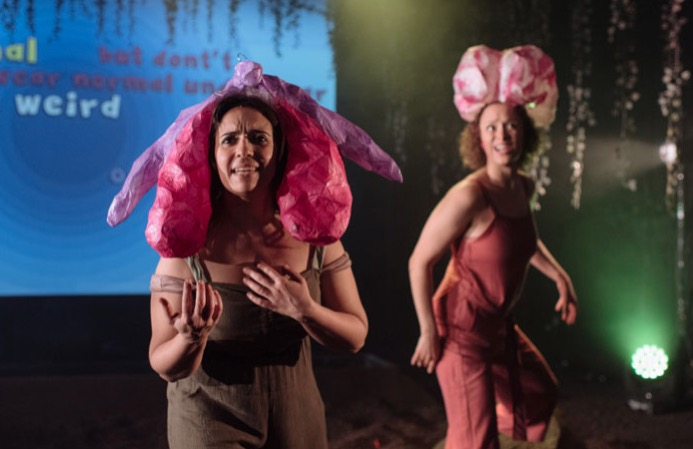 Photo of Rejoicing At Her Wondrous Vulva The Young Woman Applauded Herself – Ovalhouse, London