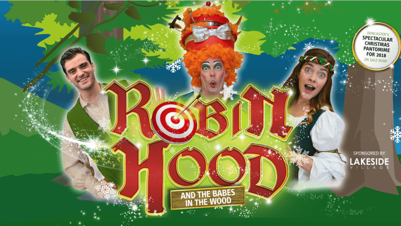 Photo of Robin Hood and the Babes in the Wood – CAST, Doncaster