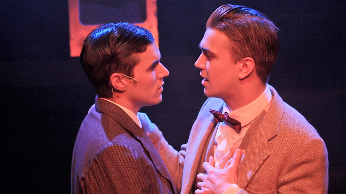 Photo of Thrill Me: The Leopold & Loeb Story – Arcola Theatre, London