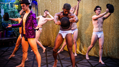 Photo of Naked Boys Singing – Garden Theatre at the Eagle, London