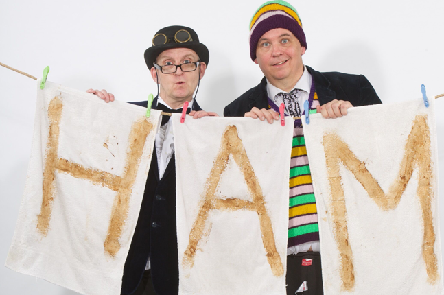 Photo of FIFTY-WORD FRINGE PITCH: The Raymond & Mr. Timpkins Revue