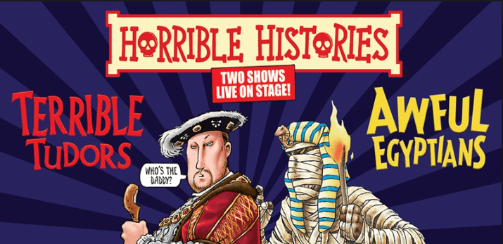 Photo of Horrible Histories: Terrible Tudors and Awful Egyptians – King's Theatre, Edinburgh