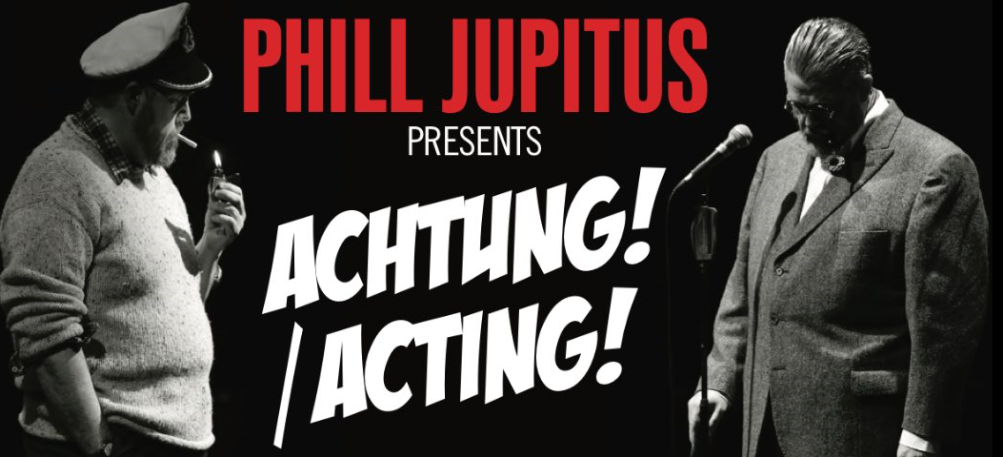 Photo of Phill Jupitus: Achtung/Acting – The Stand 5, Edinburgh