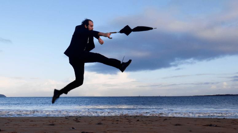 Photo of FIFTY WORD FRINGE PITCH…Umbrella Man